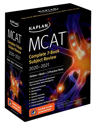 Kaplan MCAT book