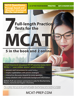 MCAT-prep 7 Exams book