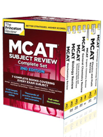 The Princeton Review MCAT book 2nd edition
