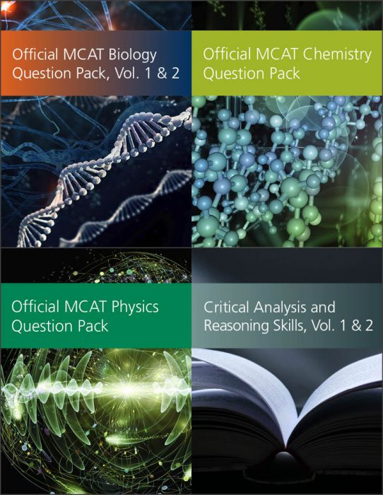 Official MCAT Question Packs