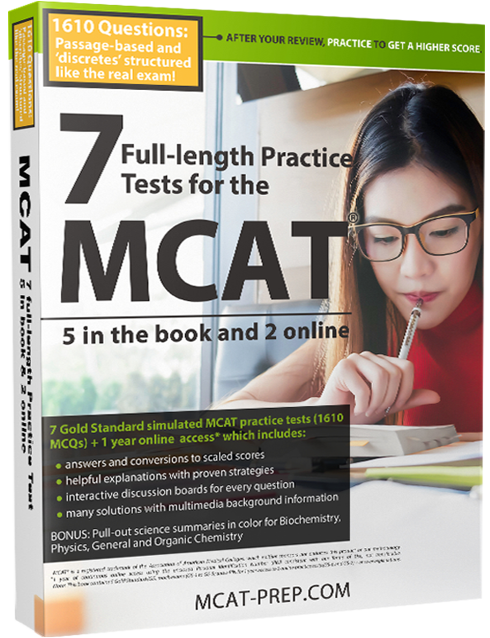 MCAT General Chemistry Review Summary| Gold Standard MCAT Prep