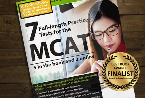 7 Exams MCAT Book: Practice Makes Perfect