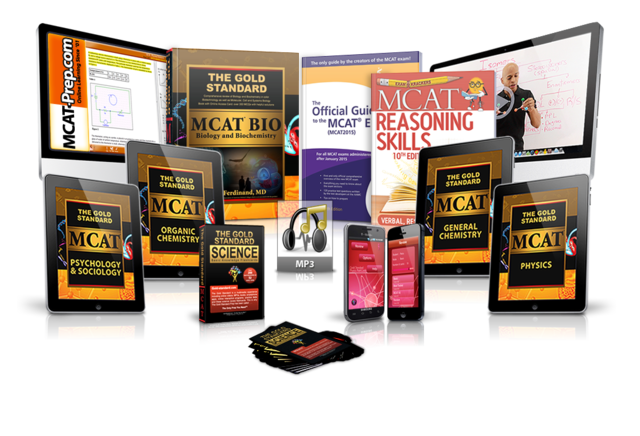 Gold Standard MCAT Home Course for new MCAT 2015