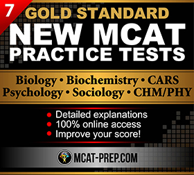 MCAT practice tests that cover all 4 MCAT sections