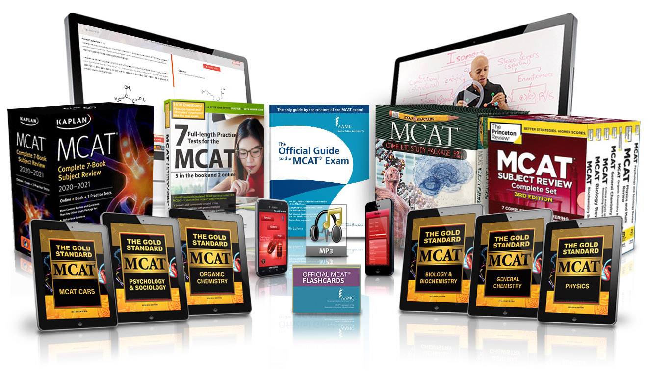 Gold Standard MCAT Prep Home Study Package